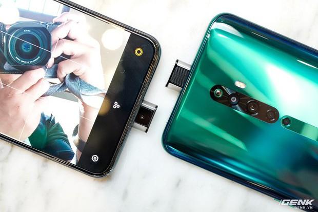 Ngắm nhìn Oppo Reno2 F màu Xanh Tinh Vân: Từ xanh hóa tím ảo diệu không rời mắt, giá không đổi - Ảnh 14.