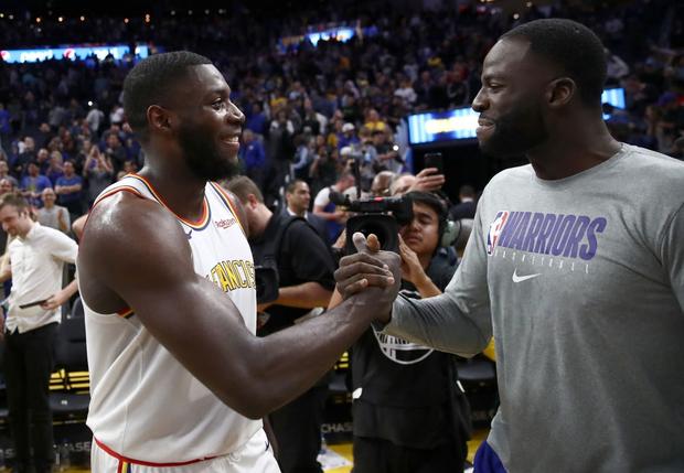 NBA 19-20: Đánh bại Portland Trail Blazers, Golden State Warriors lần đầu chiến thắng tại Chase Center - Ảnh 3.
