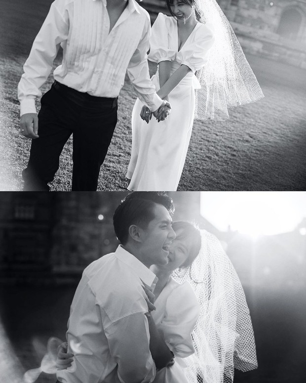 Nhìn Đông Nhi diện váy cưới, để tóc đơn giản mà vẫn xinh ngất, hẳn nàng nào cũng muốn làm bộ ảnh cưới xịn y chang - Ảnh 8.