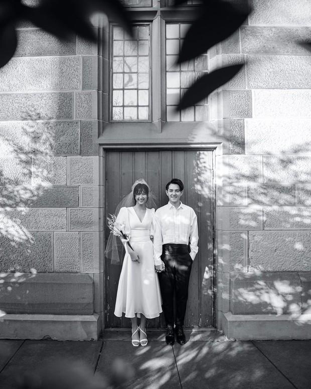 Nhìn Đông Nhi diện váy cưới, để tóc đơn giản mà vẫn xinh ngất, hẳn nàng nào cũng muốn làm bộ ảnh cưới xịn y chang - Ảnh 4.