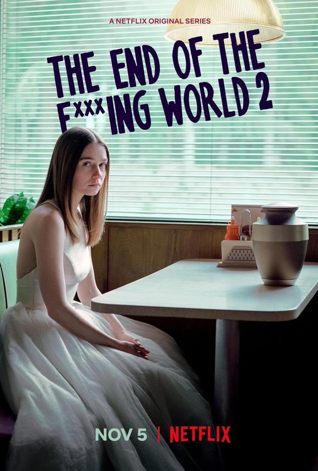 The End of the F***ing World: Thấm thía nỗi cô đơn tuổi dậy thì trong phim teen kì dị nhất trên Netflix - Ảnh 8.