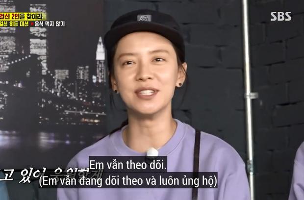 Song Ji Hyo bóng gió nhắc về Gary tại Running Man: Anh vẫn khỏe chứ? - Ảnh 4.