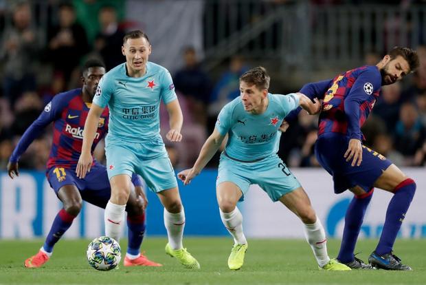Messi phung phí cơ hội, Barcelona bị đội bóng nhược tiểu cầm hòa ngay trên sân nhà - Ảnh 2.