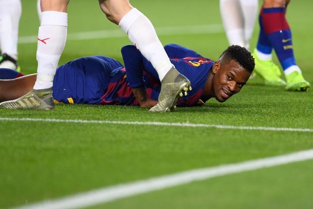 Messi phung phí cơ hội, Barcelona bị đội bóng nhược tiểu cầm hòa ngay trên sân nhà - Ảnh 3.