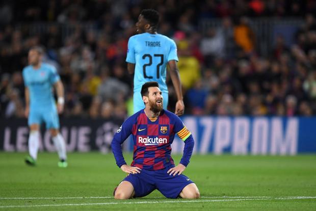 Messi phung phí cơ hội, Barcelona bị đội bóng nhược tiểu cầm hòa ngay trên sân nhà - Ảnh 7.