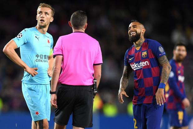 Messi phung phí cơ hội, Barcelona bị đội bóng nhược tiểu cầm hòa ngay trên sân nhà - Ảnh 6.