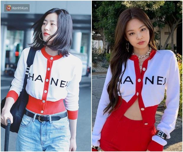 Khí chất thời trang đỉnh cao của Jennie: Chẳng hề thua kém siêu mẫu Liu Wen khi cùng diện đồ Chanel lên bìa tạp chí - Ảnh 5.