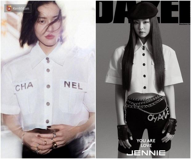 Khí chất thời trang đỉnh cao của Jennie: Chẳng hề thua kém siêu mẫu Liu Wen khi cùng diện đồ Chanel lên bìa tạp chí - Ảnh 4.