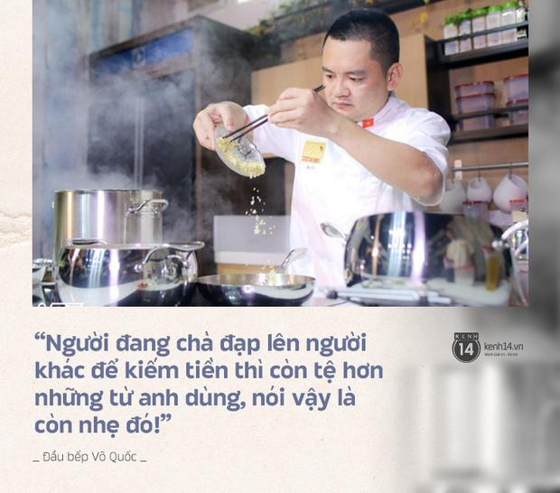 Trò chuyện với đầu bếp Võ Quốc sau status chỉ trích Khoa Pug gay gắt: Không trân trọng phụ nữ thì thôi nhưng cũng đừng chà đạp họ như vậy! - Ảnh 4.