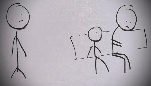 Con trai khinh thường người lao động vì quá hôi hám, không cần đánh đập hay mắng mỏ, chỉ bằng bộ tranh vẽ tay ông bố đã khiến đứa con thay đổi suy nghĩ ngay lập tức - Ảnh 6.