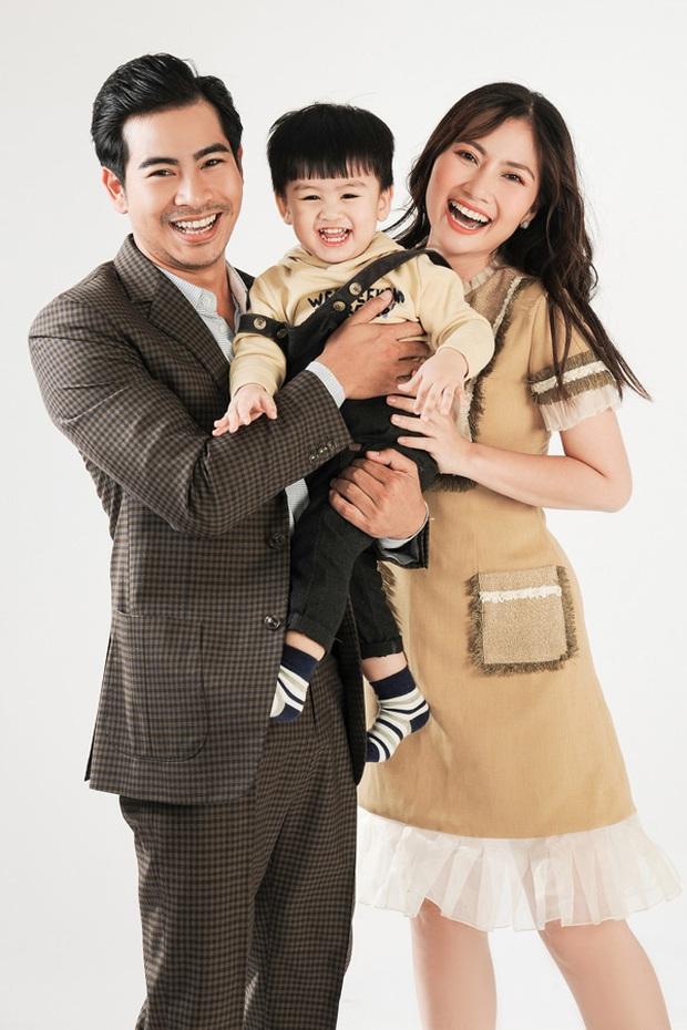 Liên tục vắng mặt Thanh Bình, Ngọc Lan quyết thay chồng thành con trai trong ảnh cưới cover Đông Nhi - Ông Cao Thắng - Ảnh 2.