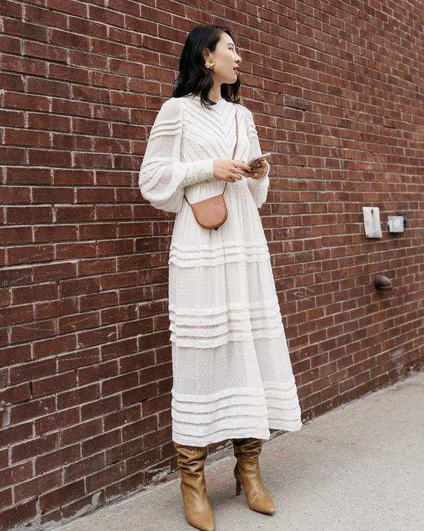 Trời chưa lạnh hẳn bạn hãy tranh thủ diện váy, đặc biệt là 3 kiểu xinh ngất ngây sau - Ảnh 2.