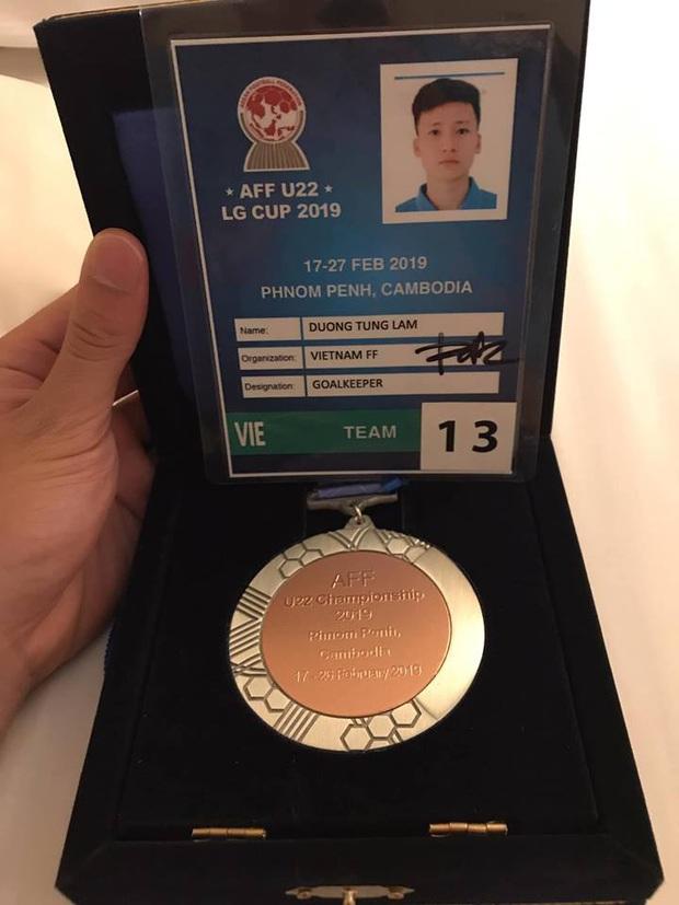 Dương Tùng Lâm: Chàng thủ môn điển trai với ước mơ được cùng U22 Việt Nam tham dự SEA Games 30 - Ảnh 5.