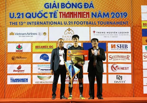 Dương Tùng Lâm: Chàng thủ môn điển trai với ước mơ được cùng U22 Việt Nam tham dự SEA Games 30 - Ảnh 6.