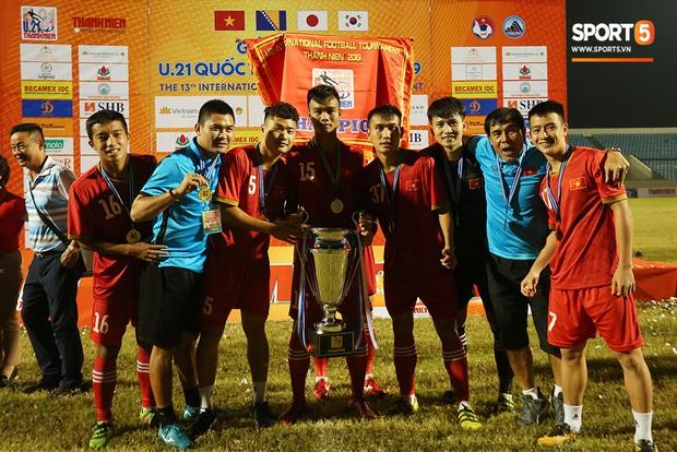Dương Tùng Lâm: Chàng thủ môn điển trai với ước mơ được cùng U22 Việt Nam tham dự SEA Games 30 - Ảnh 7.