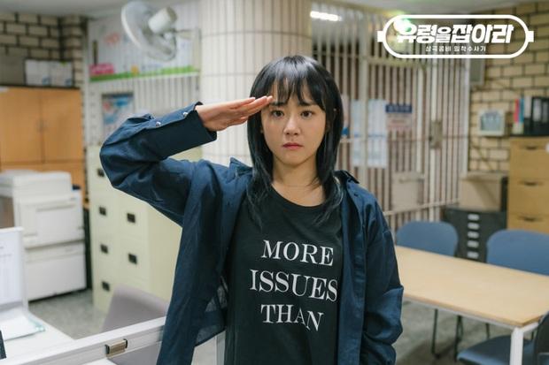 4 lí do xem ngay Catch The Ghost: Moon Geun Young làm hiệp sĩ đường phố, phim hình sự xem như tấu hề? - Ảnh 2.