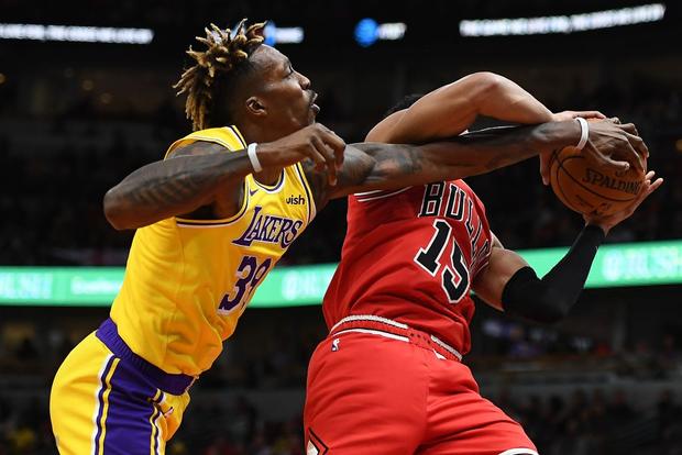 NBA 19-20: Bùng nổ trong hiệp cuối, Los Angeles Lakers ngược dòng đánh bại Chicago Bulls - Ảnh 3.