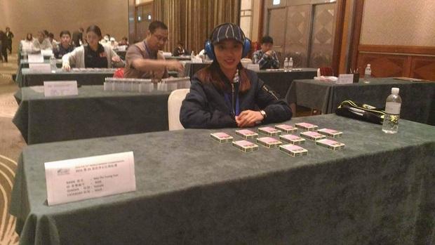 Cô gái nhớ 2.200 con số trong 2 tiếng của Siêu trí tuệ từng gây dấu ấn tại giải đấu vô địch trí nhớ thế giới - Ảnh 4.