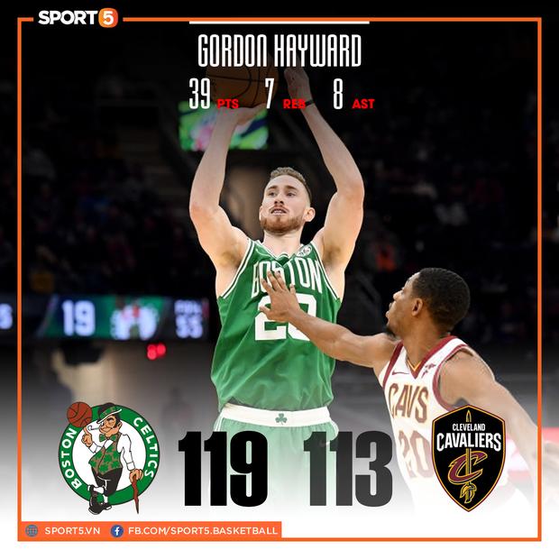 NBA 19-20: Los Angeles Lakers nối dài mạch thắng, Gordon Hayward rực sáng trong chiến thắng của Boston Celtics - Ảnh 3.