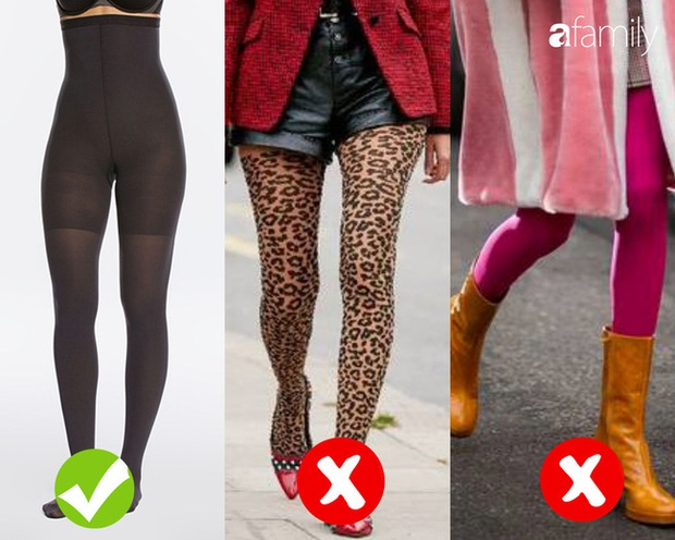 4 kiểu quần tất sẽ khiến các nàng trông thật ngớ ngẩn trong mắt người đối diện - Ảnh 3.