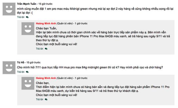 iPhone 11 Pro Max cháy hàng tại Việt Nam dù giá vẫn đang cao top đầu - Ảnh 5.