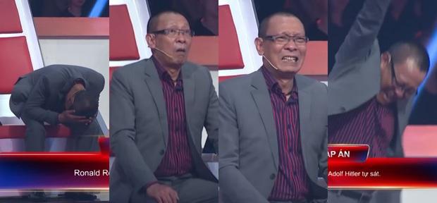 Nhà báo Lại Văn Sâm ôm đầu, tự tát, Trấn Thành chắp tay, cúi người... trước dàn Siêu trí tuệ Việt Nam - Ảnh 9.