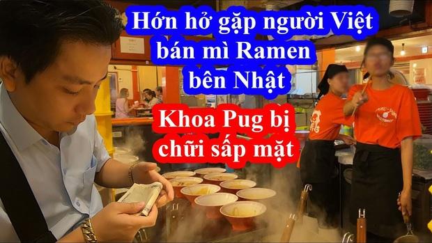 """Biến cũ chưa qua biến mới đã tới: Tố bị nhân viên người Việt """"chửi"""" khi chụp ảnh trong quán mì Nhật, Khoa Pug tiếp tục gây sóng gió MXH - Ảnh 10."""