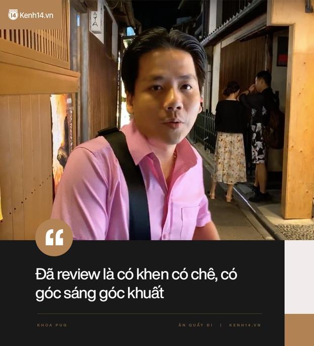 """Cuối cùng Khoa Pug cũng lên tiếng giải thích cho loạt vlog """"gây biến"""" ở Nhật: Kênh tôi làm không phải Khen Vlog, đã review là có khen có chê, có góc sáng góc khuất - Ảnh 6."""