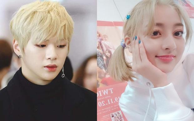 Cực hợp với tóc vàng bạch kim, Jihyo chỉ cần makeup sương sương ra đường cũng đủ đẹp bá cháy - Ảnh 3.