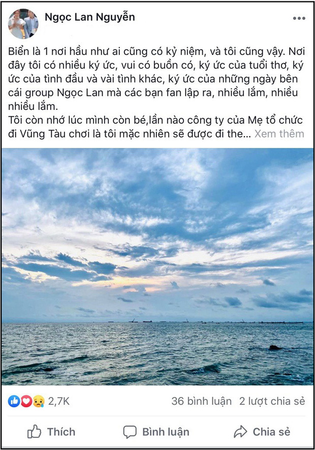 Ngọc Lan và Thanh Bình cùng đăng chia sẻ tâm trạng, tiếp tục gây hoang mang giữa tin đồn rạn nứt hôn nhân - Ảnh 2.