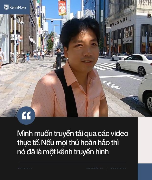 """Cuối cùng Khoa Pug cũng lên tiếng giải thích cho loạt vlog """"gây biến"""" ở Nhật: Kênh tôi làm không phải Khen Vlog, đã review là có khen có chê, có góc sáng góc khuất - Ảnh 8."""