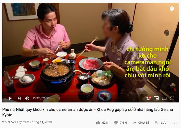 """Cuối cùng Khoa Pug cũng lên tiếng giải thích cho loạt vlog """"gây biến"""" ở Nhật, nhưng tại sao lại phát ngôn theo kiểu… thầm lặng thế này? - Ảnh 2."""