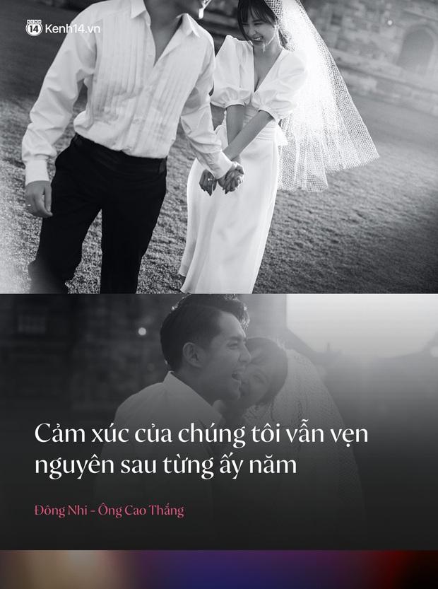 Trước đám cưới, điểm lại những câu nói ngôn tình chứng minh tình yêu ngọt nhất Vbiz của Đông Nhi và Ông Cao Thắng - Ảnh 3.