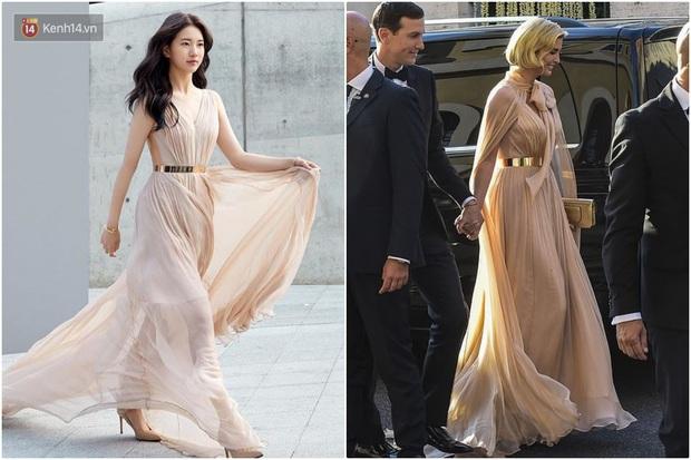 Sửa váy cho kín đáo chứ không lồ lộ như Ivanka Trump, Suzy khẳng định: Vòng 1 khủng hơn chưa chắc đã mặc đẹp hơn! - Ảnh 7.