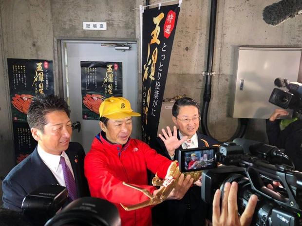 Choáng váng: Cận cảnh con cua biển vừa xác lập kỷ lục đắt nhất thế giới ở Nhật với giá hơn 1 tỷ đồng! - Ảnh 6.