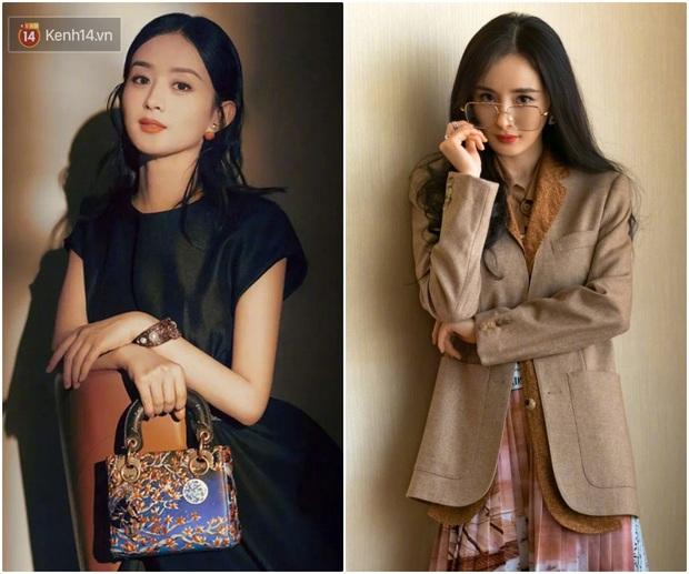 So kè ảnh quảng cáo mới của Triệu Lệ Dĩnh – Dương Mịch: Nữ hoàng thời trang sân bay cũng có ngày bại trận trước đại sứ Dior? - Ảnh 3.