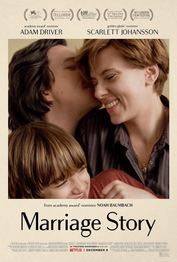 Phim của Scarlett Johansson được khen hết lời: Chuyện li hôn dở khóc dở cười, kịch tính như đánh trận - Ảnh 1.