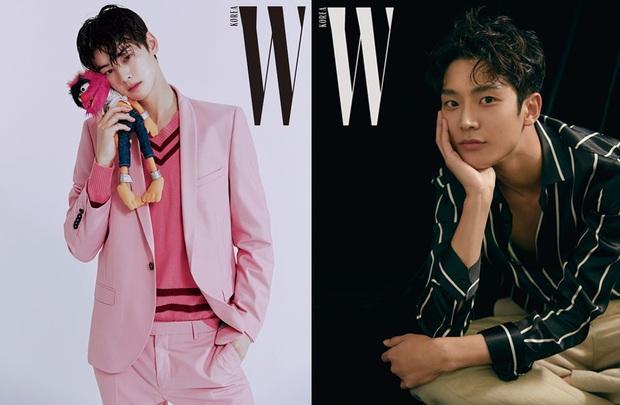 So kè 2 idol lấn sân diễn xuất hot nhất hiện nay: Cha Eun Woo đẹp vô thực có thất thế trước đàn em Rowoon? - Ảnh 1.