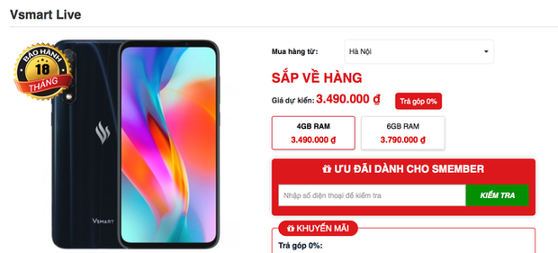 Lần đầu tiên có smartphone Việt được người Việt tìm mua nhiều đến độ cháy hàng - Ảnh 3.