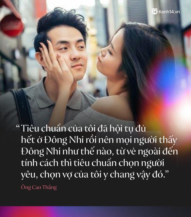 Trước đám cưới, điểm lại những câu nói ngôn tình chứng minh tình yêu ngọt nhất Vbiz của Đông Nhi và Ông Cao Thắng - Ảnh 11.