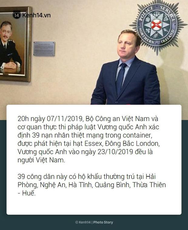 Toàn cảnh vụ 39 thi thể người Việt được phát hiện trong xe container ở Anh - Ảnh 14.