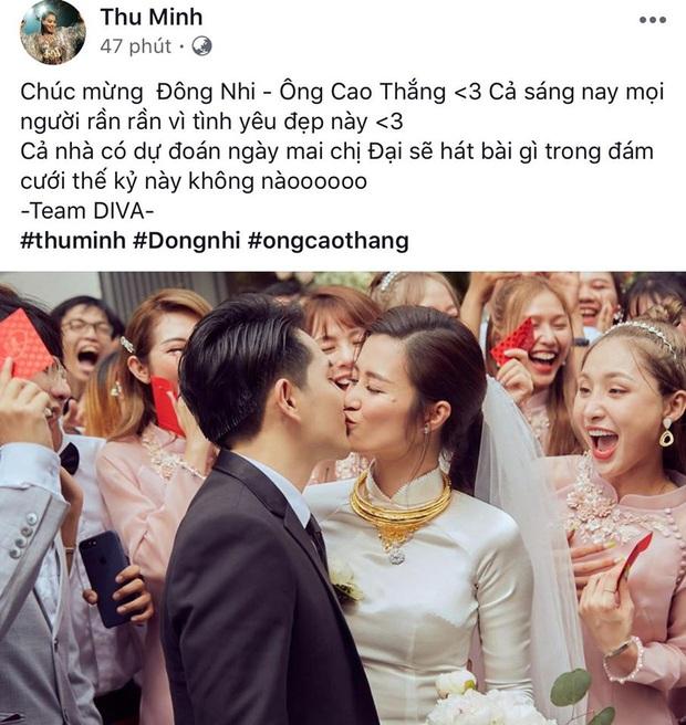 Dàn sao Việt xúc động trước khoảnh khắc Đông Nhi và Ông Cao Thắng về chung một nhà sau 1 thập kỷ yêu - Ảnh 1.