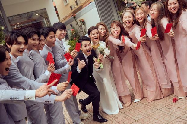 Cô dâu vui nhất showbiz Đông Nhi: Chỉ có hai trạng thái, cười tươi và cười rất tươi - Ảnh 6.