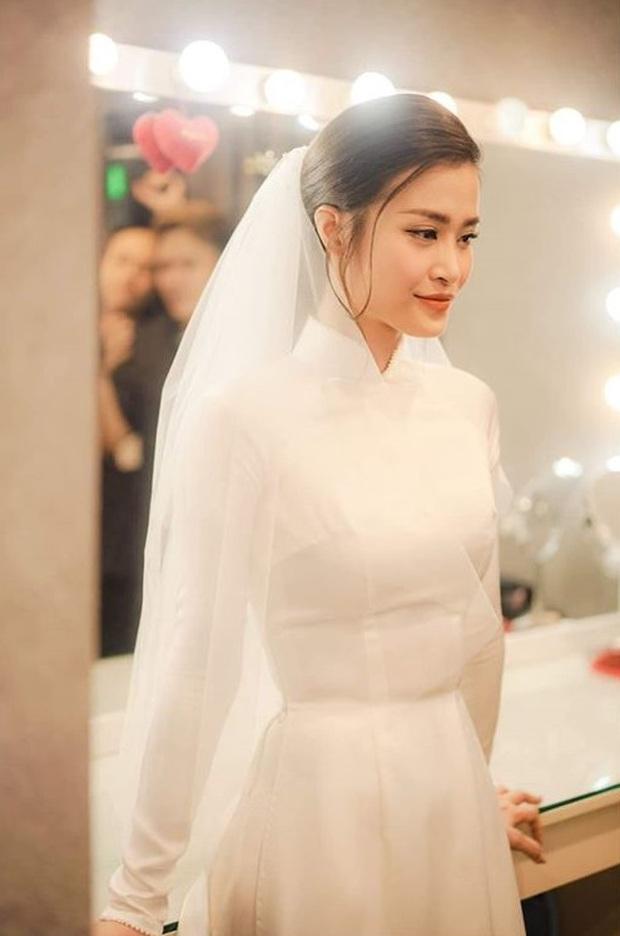 Nhìn hình Đông Nhi rút ra chân lý: Cô dâu cứ trang điểm nhẹ nhàng, tóc tai đơn giản là đã đẹp lụi tim - Ảnh 6.