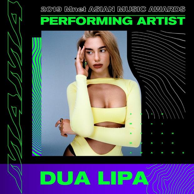 """Chỗ chị em thân thiết, ai dè Dua Lipa """"phản bội"""" BLACKPINK đến diễn ở MAMA 2019 thay vì concert của nhóm - Ảnh 2."""