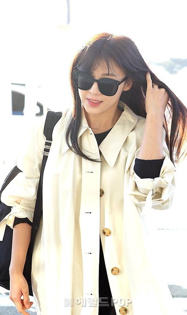 Sân bay Hàn náo loạn vì quân đoàn sao: Hoàng hậu Ki Ha Ji Won sang chảnh sang Việt Nam, NCT và ITZY visual không vừa - Ảnh 5.
