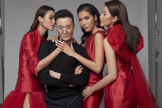 Hoa Hậu Giang Hồ Minh Tú xúng xính váy áo rủ đạo diễn đẹp trai Lương Mạnh Hải chụp bộ ảnh chị chị em em - Ảnh 2.