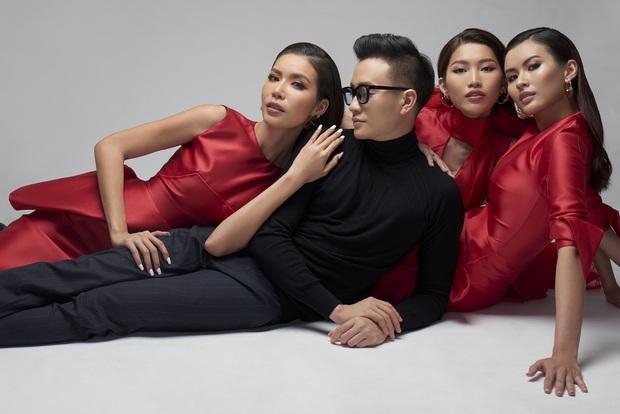 Hoa Hậu Giang Hồ Minh Tú xúng xính váy áo rủ đạo diễn đẹp trai Lương Mạnh Hải chụp bộ ảnh chị chị em em - Ảnh 3.