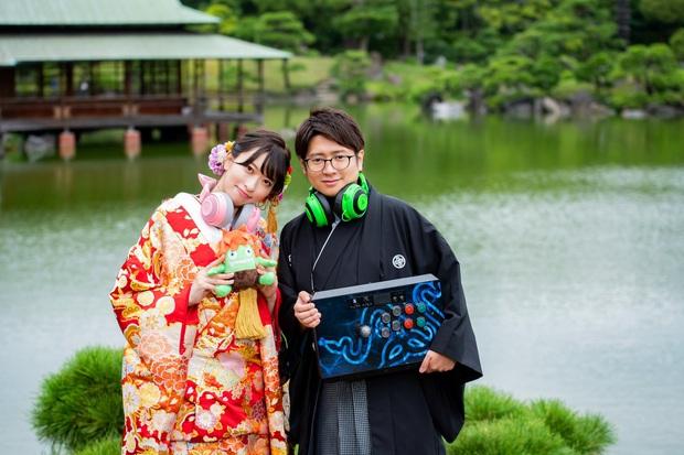 Chân dung chàng tuyển thủ Esports may mắn nhất thế giới: Đi chơi game cũng kiếm được vợ là mỹ nhân siêu vòng 3 nức tiếng Nhật Bản - Ảnh 1.