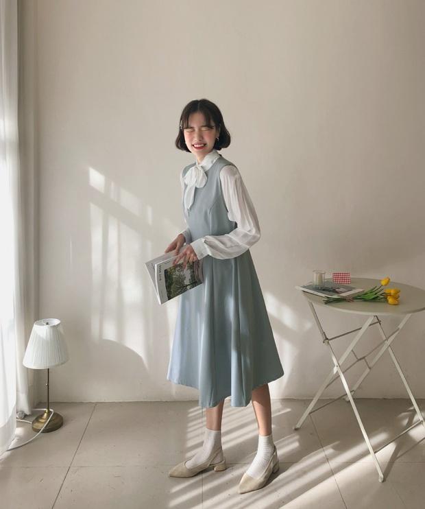 Diện mẫu váy áo đậm chất tiểu thư này, trông bạn sẽ quý phái và yêu kiều hệt như các mỹ nhân Kbiz vậy - Ảnh 16.
